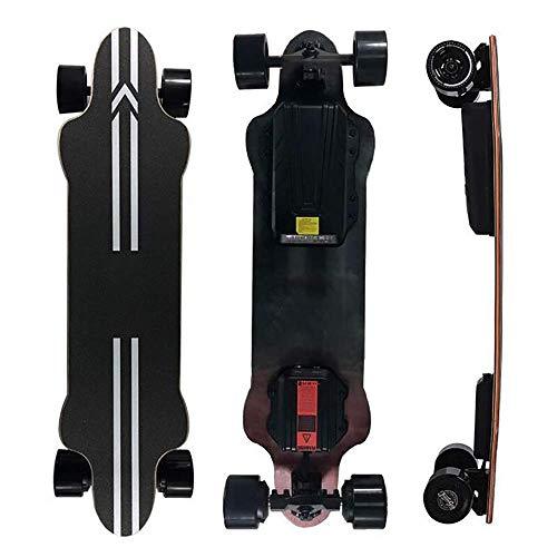 WXDP Patineta Cruiser Pro,Longboard eléctrico, Velocidad máxima de 25 mph, Rango de...