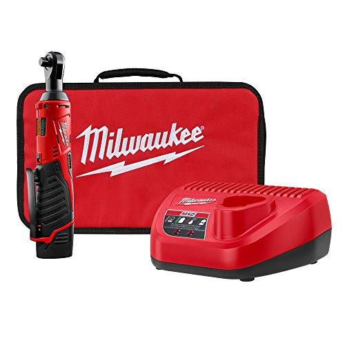 Milwaukee 2457-21p M12 Cordless 3/8' Lithium-ion Ratchet Kit