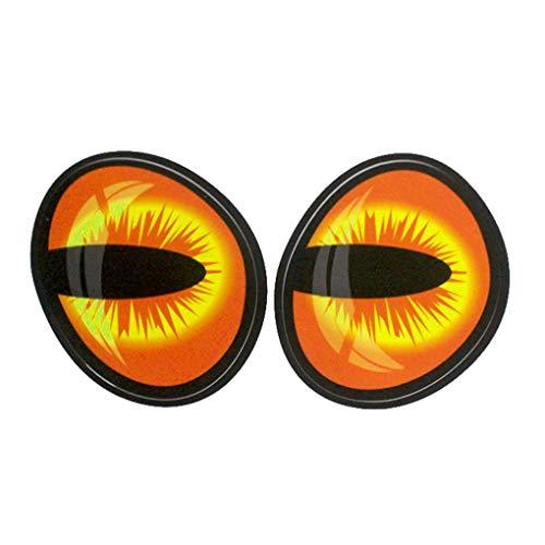 Premium Quality Funny Eye Car Sticker Fuel Tank Cap Review Mirror Engine Hood Eyeball Decal Car Body Decoration Ornament fast-shop