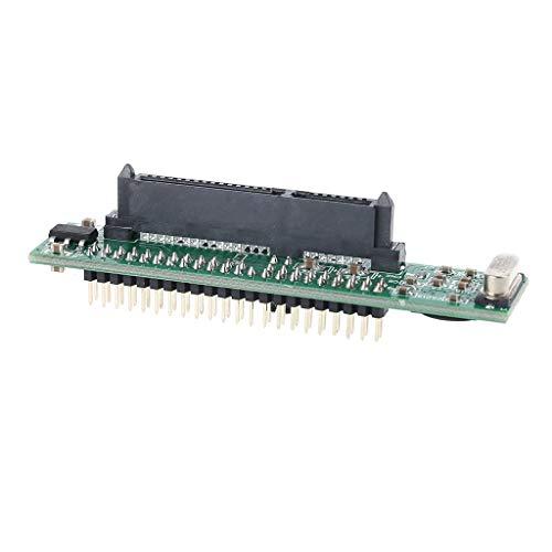 "S-TROUBLE 1 Unidad de 2,5""IDE Macho a 7 + 15 Pines Hembra SATA HDD SSD Adaptador convertidor para computadora portátil"