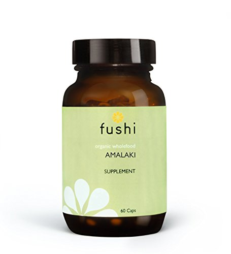 Fushi Organic Amalaki Capsules, 60 Caps | Fresh-Ground & Whole Food | Rich in Vitamin C | Natural Anti-inflammatory, Detoxifies the Body | Bio-dynamically Grown, Cold Processed, Vegan |Made in the UK