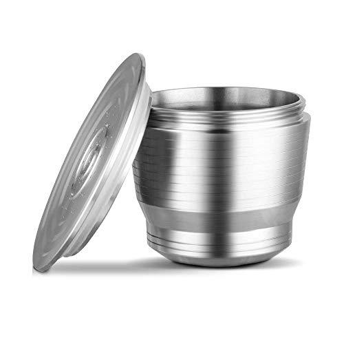 Vansiho Filtro de café de Acero Inoxidable Lleno de café cápsula Shell Reutilizable Filtro de café