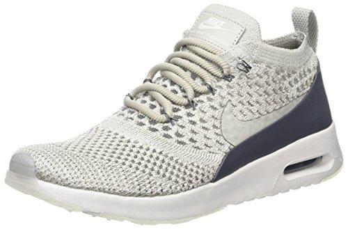Nike Damen Air Max Thea Ultra Flyknit Sneaker, Grau (Pale Gery/Pale Grey-Dark Grey), 40 EU