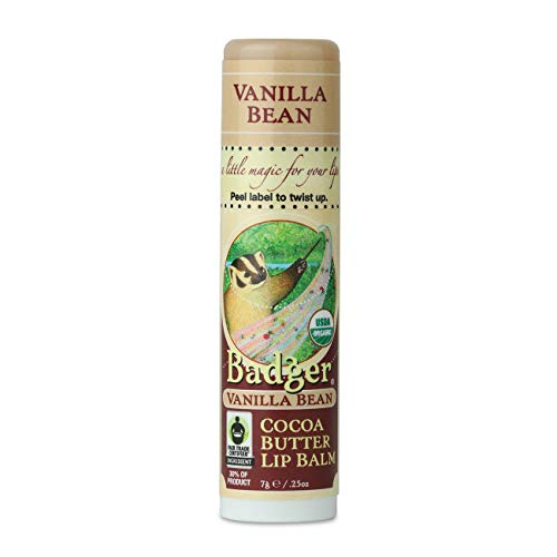 Badger - Vanilla Bean Lip Balm - 0.25 Oz - Baume