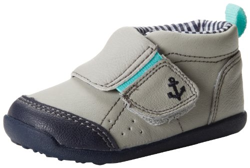 Carter's Every Step Andy Stage 1 Shoes (Infant),Light Grey,2 M US Infant