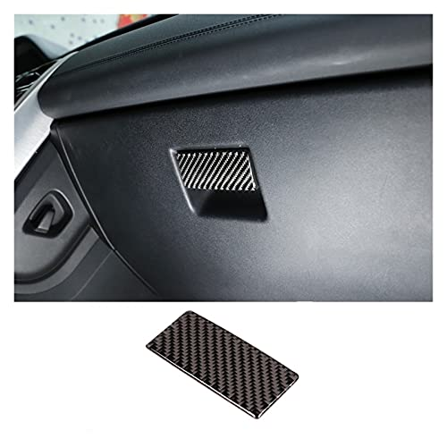 JIS FIT FOR Land Rover Discovery Sport 2015-2019 Fibra De Carbono ABS CO-PILOBO PILOBO Caja DE Glove COVIDOR Cubierta ADJORTADOR (Color Name : Carbon Fiber Pattern)