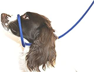 Dog & Field Figure 8 Anti Pull Leash/Halter / Head Collar- One Size Fits All - Super Soft Braided Nylon - Fitting Instructions Included - Comfortable, Kind, Supple, Secure No More Pulling!