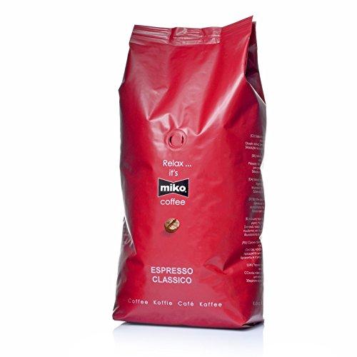 Miko Espresso Classico Bohnen 6 x 1 Kg Espressobohnen