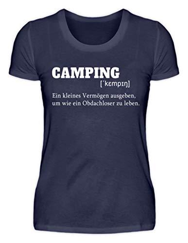 Nukular Camping Definition - Damenshirt