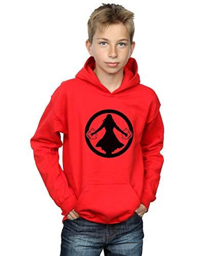Marvel Niños Scarlet Witch Symbol Capucha