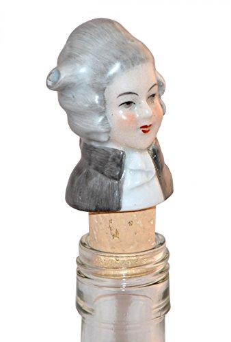 Flaschenausgießer aus Porzellan 'Monsieur Pompadour'