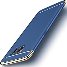 Galaxy S7 Edge Case, NAISU Galaxy S7 Edge Back Cover, Ultra Slim & Rugged Fit Shock Drop Proof Impact Resist Protective Case, 3 in 1 Hard Case for Samsung Galaxy S7 Edge - Blue