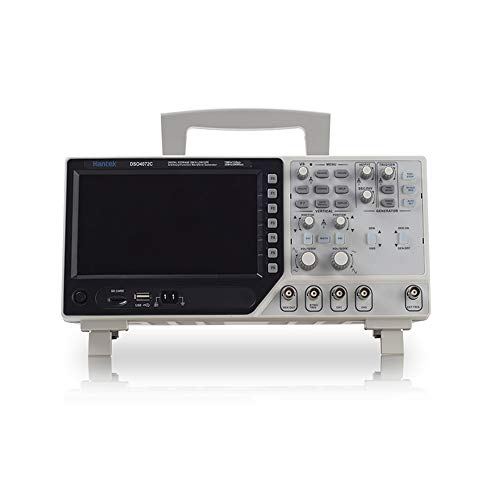 Hantek DSO4072C 2 Channel Digital Oscilloscope 1 Channel Arbitrary/Function Waveform Generator 70MHz...