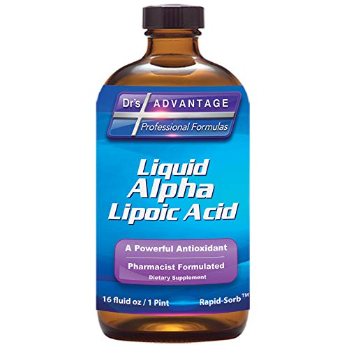 Dr's Advantage - Alpha Lipoic Acid 16oz | 50 Mg per Serving | Gluten Free & Non-GMO