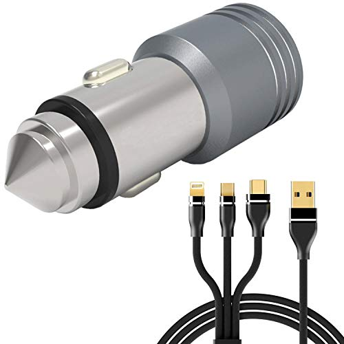 GoSale 3.1A Dual USB Port Car Charger for XOLO Era 4G, Era 1X, Era 4K, Era 2X, Era X, Era 2, Black, Era 2X, Black 1X, Win Q900S, Era, LT2000 4G, Q1000s Plus, Q2500, Prime, Omega 5.5, One HD, 8X-1000, Q1000, Cube 5.0, Q600S, One, A1010, Q2100, Cube 5.0, Q1200, A600, A500S IPS, A500 Club, Q1000 Opus, A500S Lite, A1000s, Q1011, Omega 5.0, LT900 LTE, Play 8X-1200, Q510s, Q500S IPS, Q800