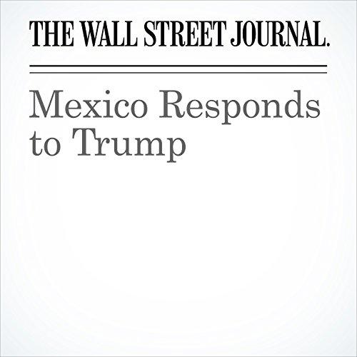 Mexico Responds to Trump copertina
