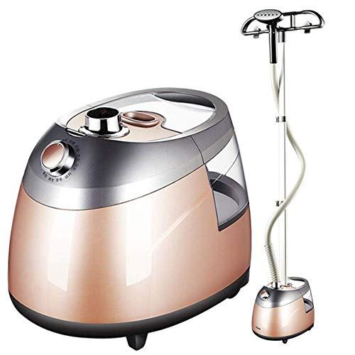 XiaoDong1 Vaporizador vertical de ropa, vaporizador de ropa de tela de 2,5 l, tanque de agua, vaporizador de pie, removedor de arrugas, vaporizador de ropa con cepillo de tela, percha y poste