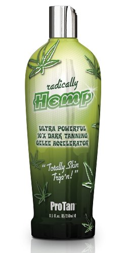 Pro Tan Radically Hemp Ultra Powerful 10X Dark Tanning Gelee Accelerator 250ml