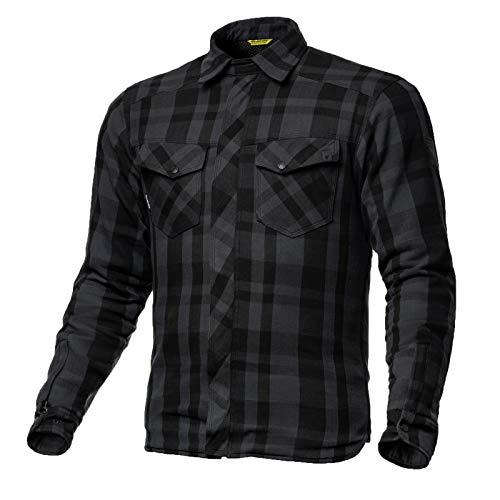SHIMA Renegade, Lumberjack Jacken-Hemd herren Motorrad Hemd  (S-XXL, Black), Größe XXL