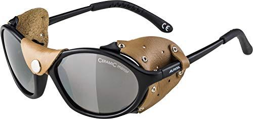 alpina SIBIRIA Sportbrille, Unisex- Erwachsene, black-brown, One size