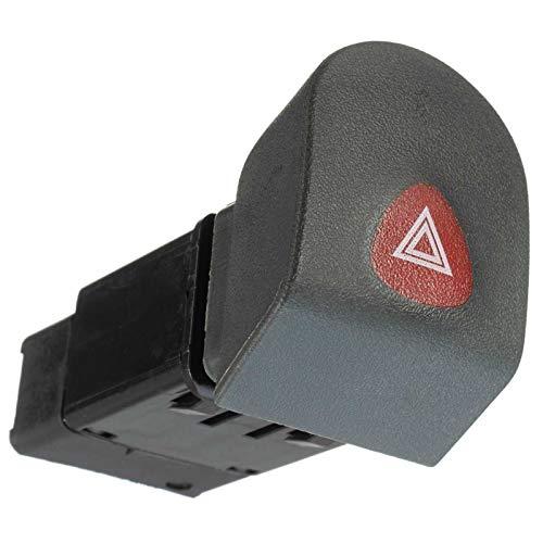 1pc Coche Dashboard De Emergencia Peligro De Emergencia Advención Botón De Conmutación para Renault Kangoo Express 1988-2002 7700308821