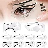 Cat Eyeliner Stencil Kit, 10 Pieces Eyeliner...