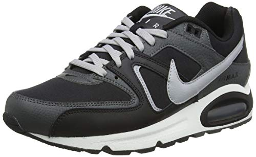 Nike Air MAX Command Leather, Zapatillas para Correr Hombre, Black Wolf Grey...