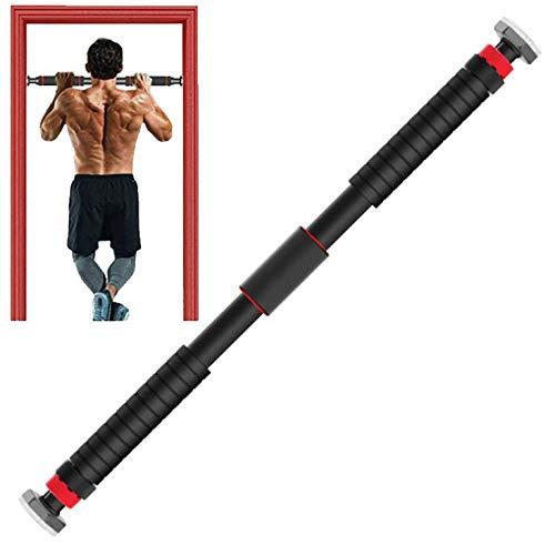 Clmaths Deur Pullup Bar - Home Deur Horizontale Bar - Deur Pull Up Fitness Apparatuur met Uitgebreide Handgrepen - Trek Bar Deur Frame Trainer voor Indoor Oefening