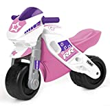 FEBER- Motofeber 2 Racing Girl con Casco, Color Rosa (Famosa 800008174)