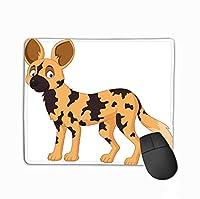 賭博のマウスパッドの習慣、人格の設計賭博のマウスパッドの漫画のアフリカの野生犬小さい