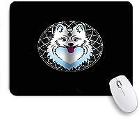 マウスパッド Mouse Pad Dog Pets Puppy Family in The Garden Australian Mousepad for Computers Laptop
