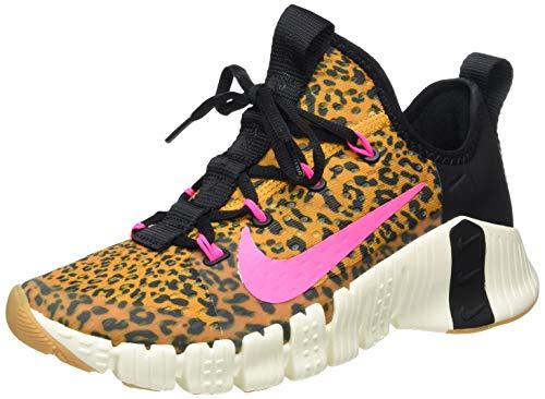 Nike Womens WMNS Free Metcon 3 Running Shoe, Black/PINK Blast-Chutney-SAIL,42 EU