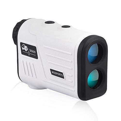 WOSPORTS Golf Rangefinder, Laser Range Finder with 650 Yards,Flag Acquisition Technology, Pulse...