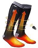 Calcetines Calefactables,Calcetines Electricos para Hombre y Mujer con...