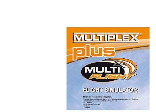 Multiplex - MULTIFLIGHT PLUS Flugsimulator CD, 855332