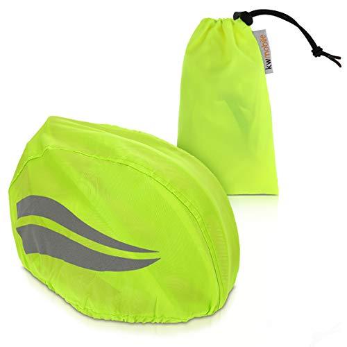 kwmobile Housse pour Casque vélo - Protection Anti Pluie - Accessoire imperméable Cycliste pour sécurité Homme et Femme - Polyester Oxford 150D