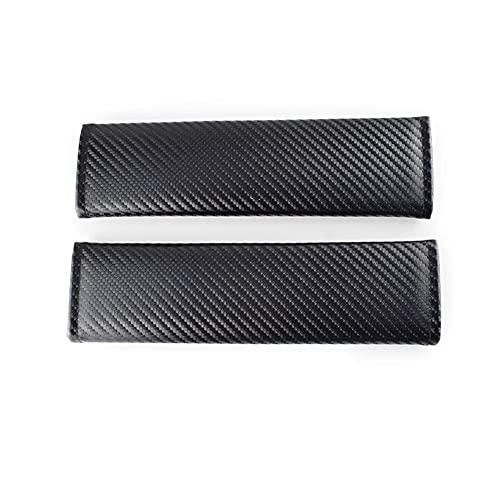 PiLiHuo Cubierta de cinturón de Seguridad para automóvil Emblemas de automóvil Estuche para automóvil/Apto para -Jeep/H-o-n-d-a Mugen Subaru/Buick/Skoda/B-M-W/Mini Lada / (Color Name : A)