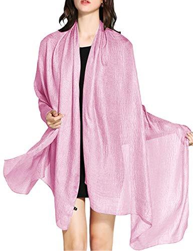 WedTrend Hoge kwaliteit eenvoudige vlas stola sjaal voor jurken in verschillende kleuren
