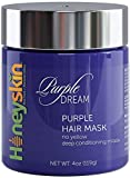 Deep Hydrating Purple Hair Mask for Blonde, Silver or...
