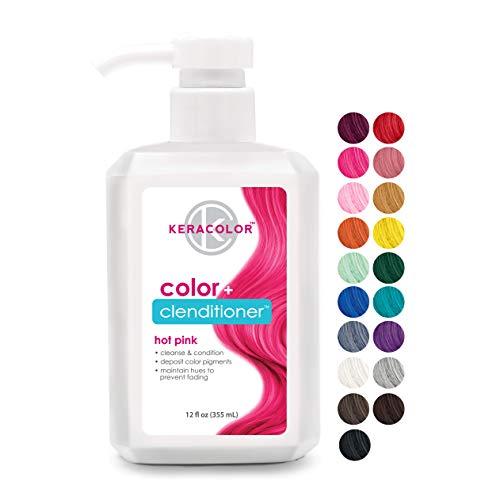 Keracolor Clenditioner HOT PINK Hair Dye - Semi...