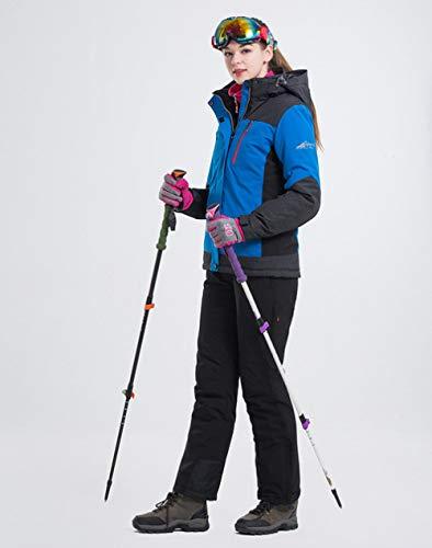 Skipak JSGJHXFLANLAKA merk vrouwen skiset hete hoge kwaliteit winterjas nieuwe aankomst 7 kleuren optioneel warm skiën sneeuw skipak vrouwelijk