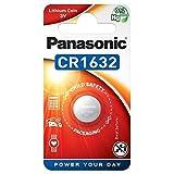 Panasonic Professional CR1632 140mAh 3V Knopfzelle - 10 Stück