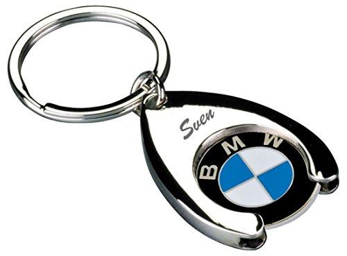Schlüsselanhänger mit Gravur - Einkaufs Chip für Einkaufswagen