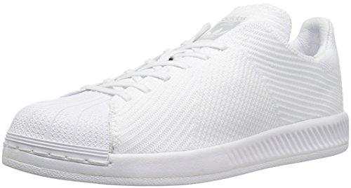 adidas Originals Men's Superstar Bounce PK Fashion Running Shoe, White, (11.5 M US)