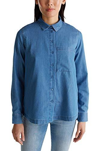 ESPRIT Jeans-Bluse mit Lyocell