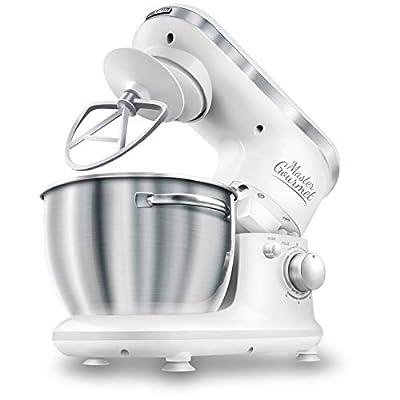 Sencor Stand Mixer 300W with Pouring Shield, White