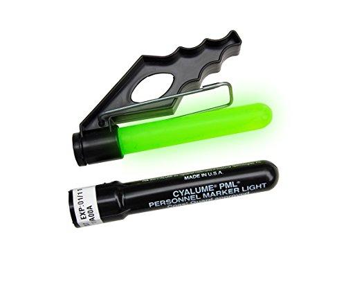 Cyalume - Paquete de 50 Balizas PML, Personnel Marker Light, 8 horas, color verde