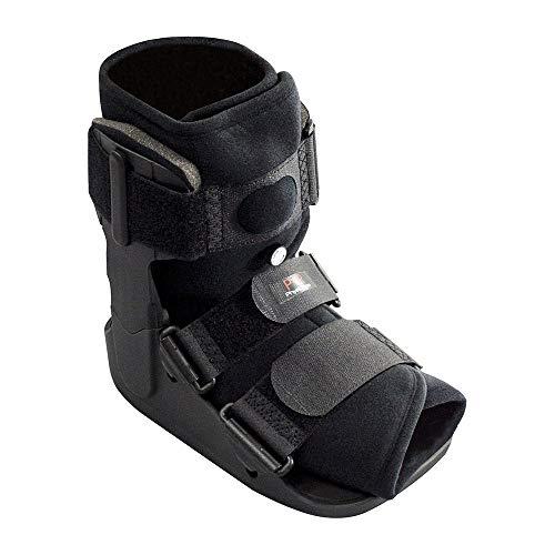 Soporte para Fractura de Tobillo - Soporte Liviano y Bota Protectora para Lesiones de Pie y Tobillo - Ideal para Fracturas, Post Cirugías de Ligamentos y Tendones, Torceduras y Tendón de Aquiles