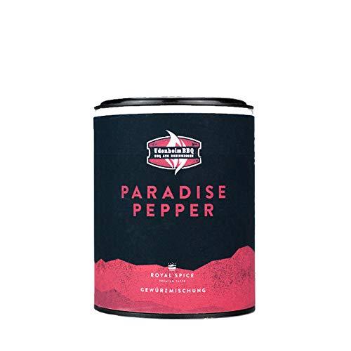 Udenheim BBQ - Paradise Pepper 50g - Genialer Allround & Steak Pfeffer Mix aus 4 Pfeffer Sorten & Vanille
