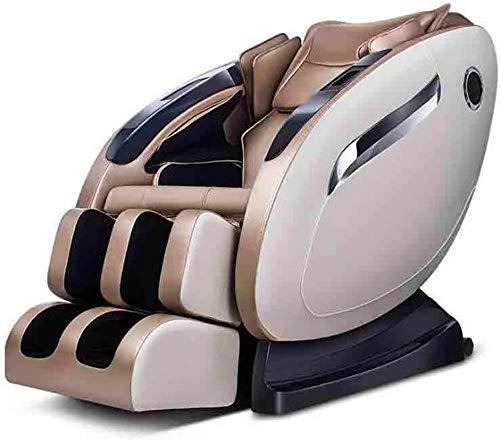 Sillón de masaje Masaje, Sillón de masaje eléctrica de múltiples funciones del sofá con el presidente del Heat / Bluetooth, reclinable inteligente for el dormitorio, sala de estar, Gimnasio, Balcón, C